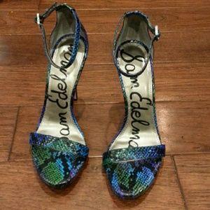 Sam Edelman Swamp Ankle Heels